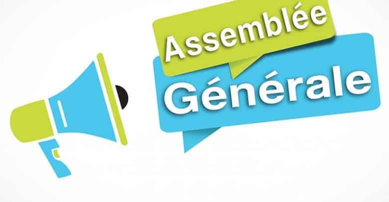ASSEMBLÉE GENERALE – 24 JANVIER 2021
